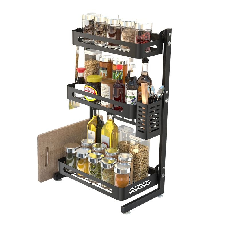 Organizer for crossings and kitchen accessories - three levels