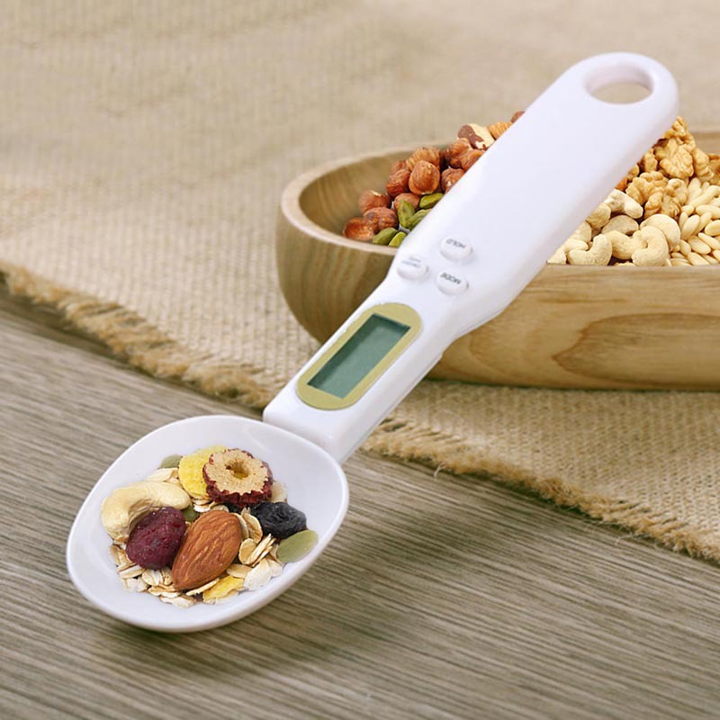 Electronic kitchen scale in the form of a teaspoon spoon up to 500g / 0.1g