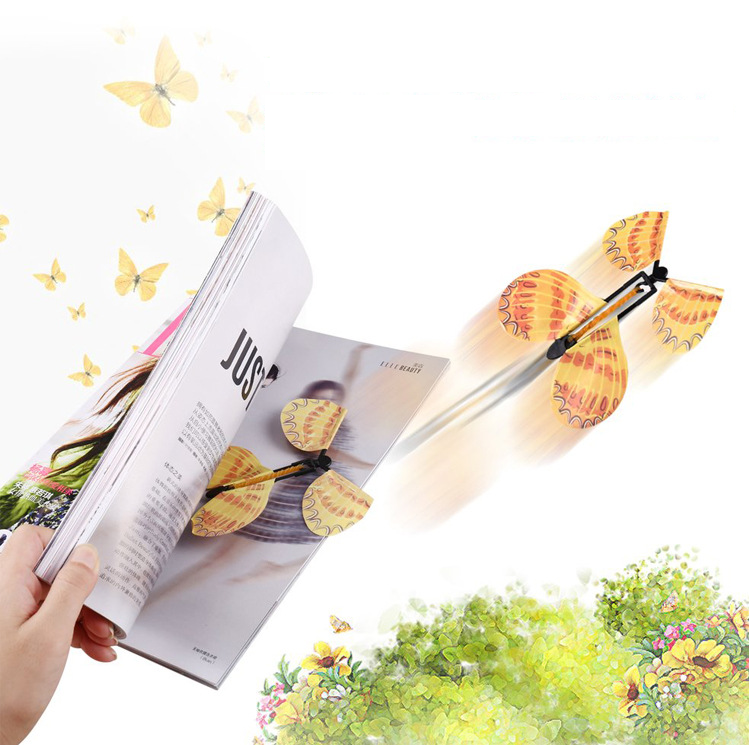 Magic flying butterfly, children's toy - type I