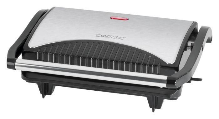 Electric grill Clatronic MG 3519 (700W, black and silver)