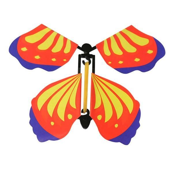 Magic flying butterfly, children's toy - type III