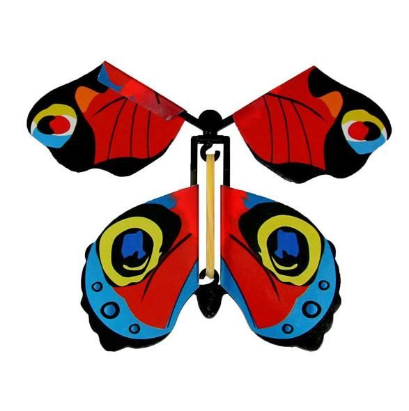 Magic flying butterfly, children's toy - type II