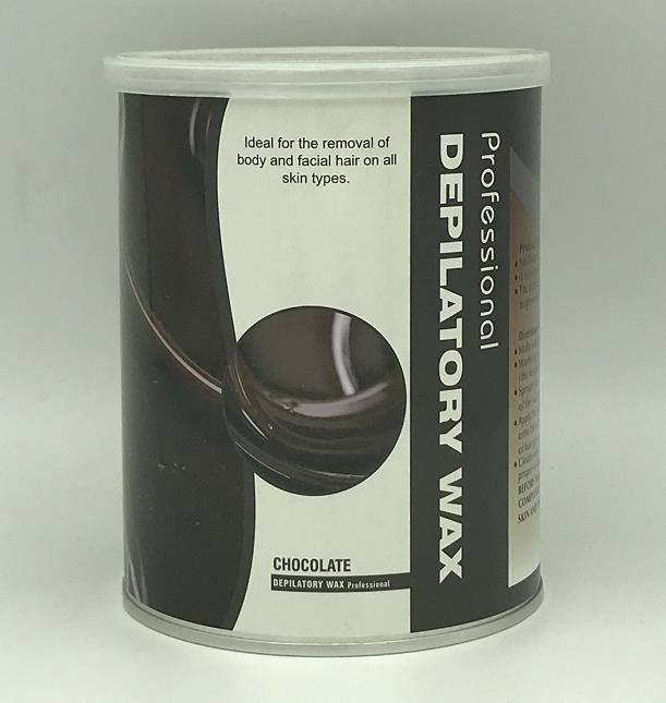 Soft wax for depilation 800g - chocolate
