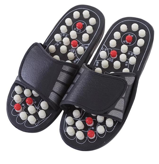 Health slippers for acupressure / foot massage / Fakirki - size 38-39