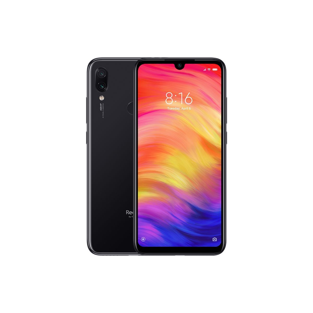 Phone Xiaomi Redmi Note 7 3/32GB - black NEW (Global Version)