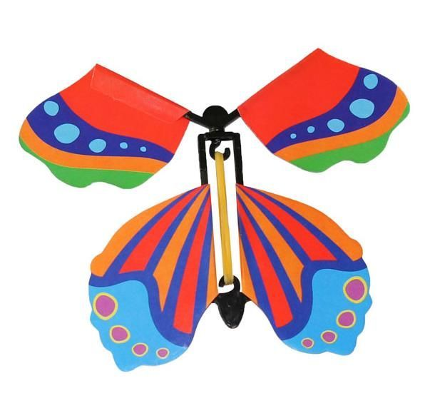 Magic flying butterfly, children's toy - type IV