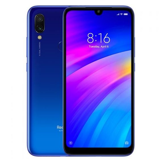 Phone Xiaomi Redmi 7 2/16GB - blue NEW (Global Version)