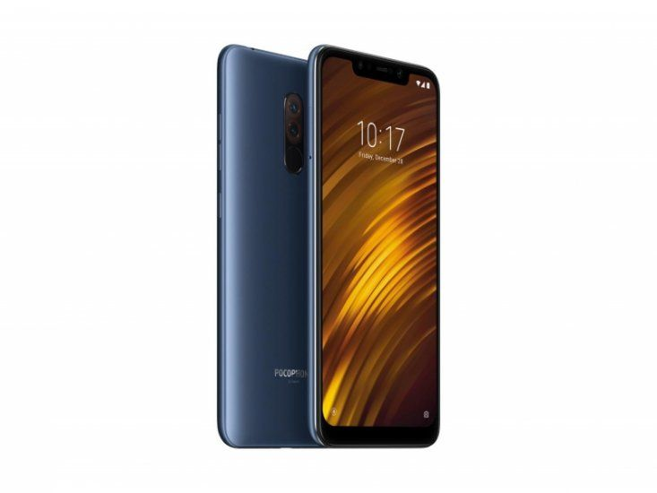 Phone Xiaomi Pocophone F1 6/64GB - blue NEW (Global Version)