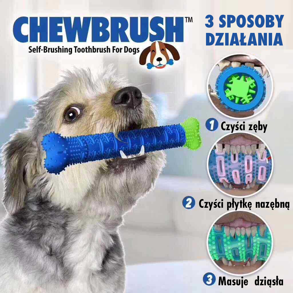 Toothbrush / Teether / Dog toy