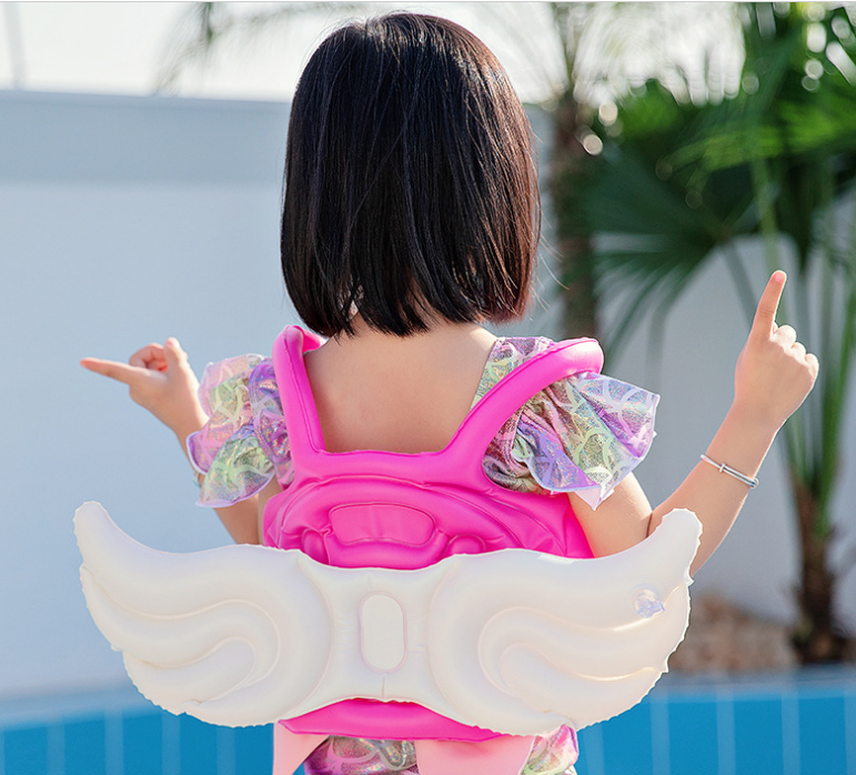 Swimming vest for children, size L - wings