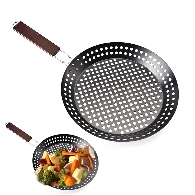 Grill pan for barbecue