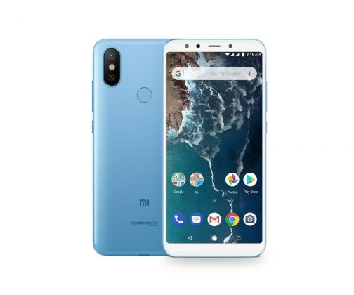 Phone Xiaomi Mi A2 4/64GB - blue NEW (Global Version)