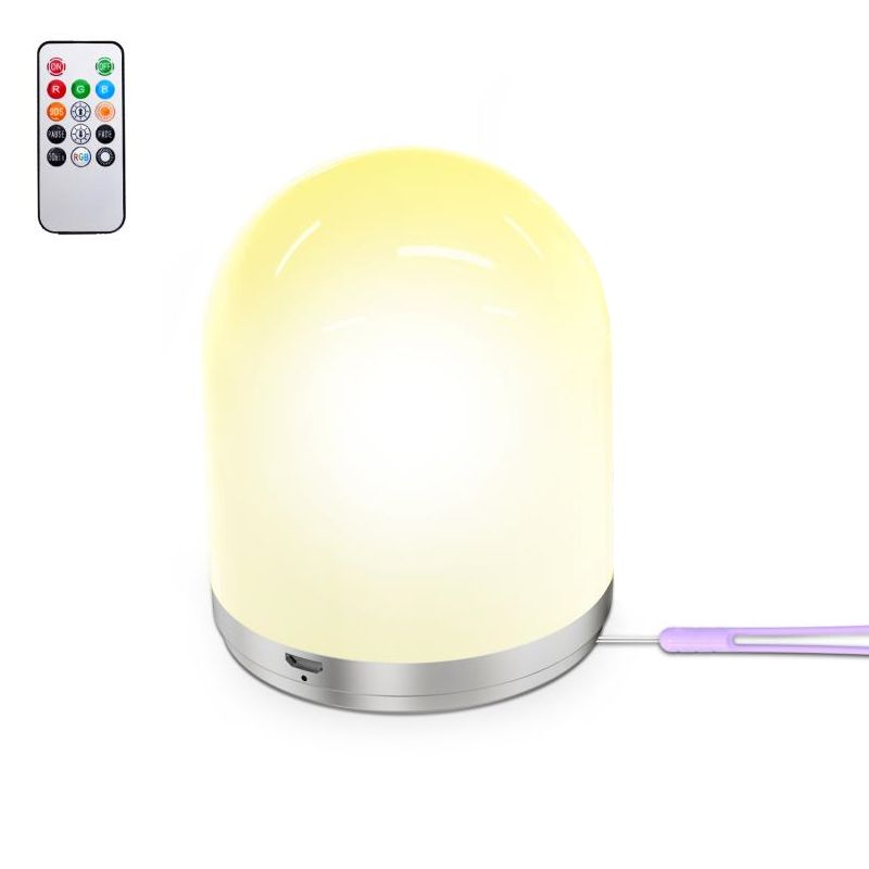 Lamp portable wireless LED