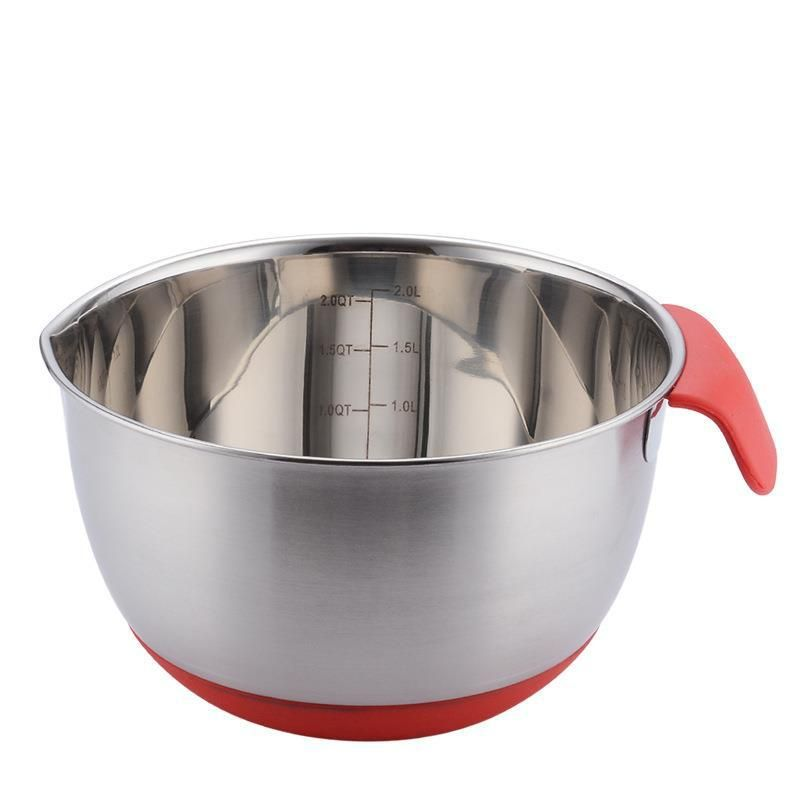 Kitchen bowl with measuring tape 24cm