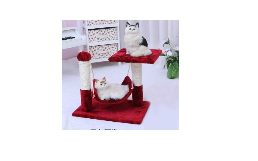 Cat tree big hammock cat bed toy