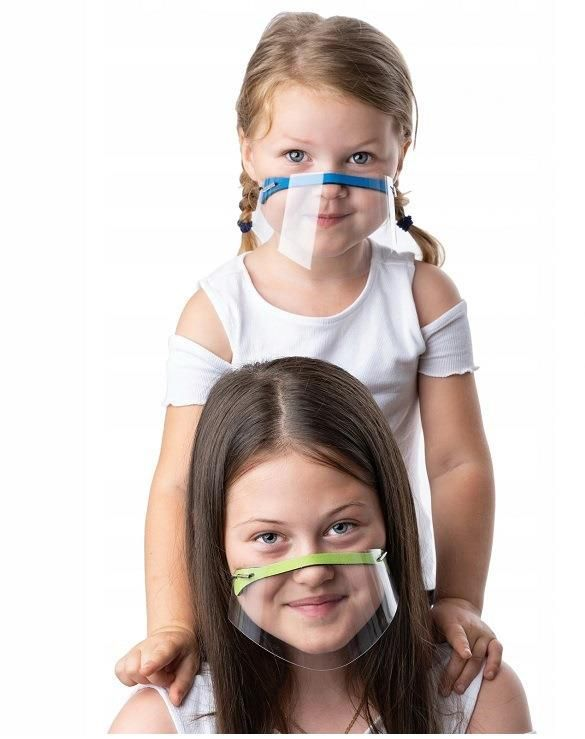 Mini nose and mouth helmet - green