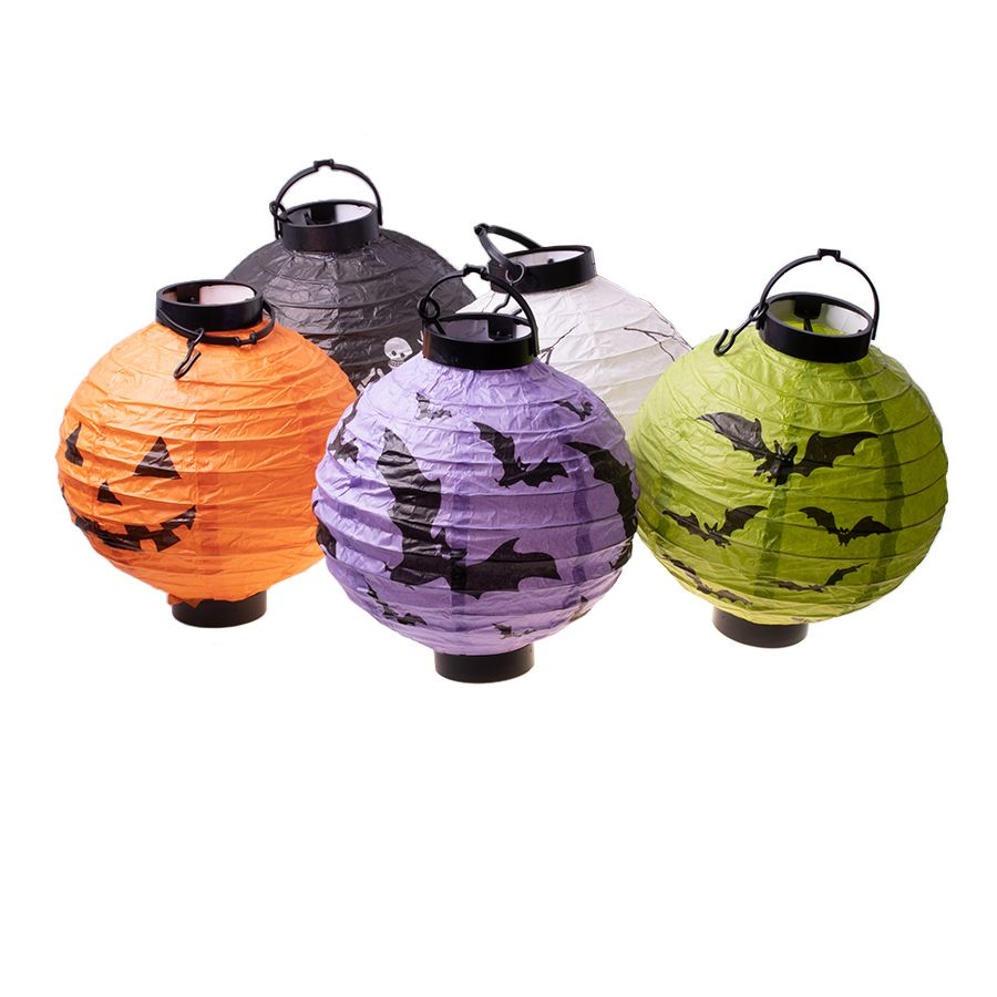 Lantern with LED lights for batteries - 5 pcs.