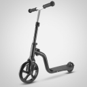 2-in-1 cross-country bike or scooter - black