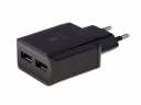 Charger adapter HEDO 2xUSB 2.4A - black(original)