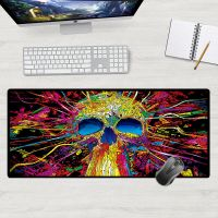 Gaming mouse and keyboard pad for players size 50x100cm - color splash