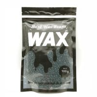 Hard wax in granules for depilation 100g - chocolate