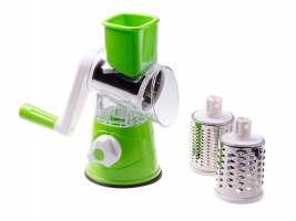 Machine for grating potatoes, cheese, vegetables 3x graters