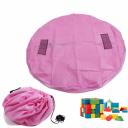 Mat for toys, blocks, bag- small pink