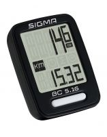Sigma BC 5.16 Wired bicycle computer Black