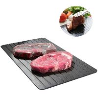 Tray for quick defrosting of food, size 35.5 x 20.5 x 0.3 cm